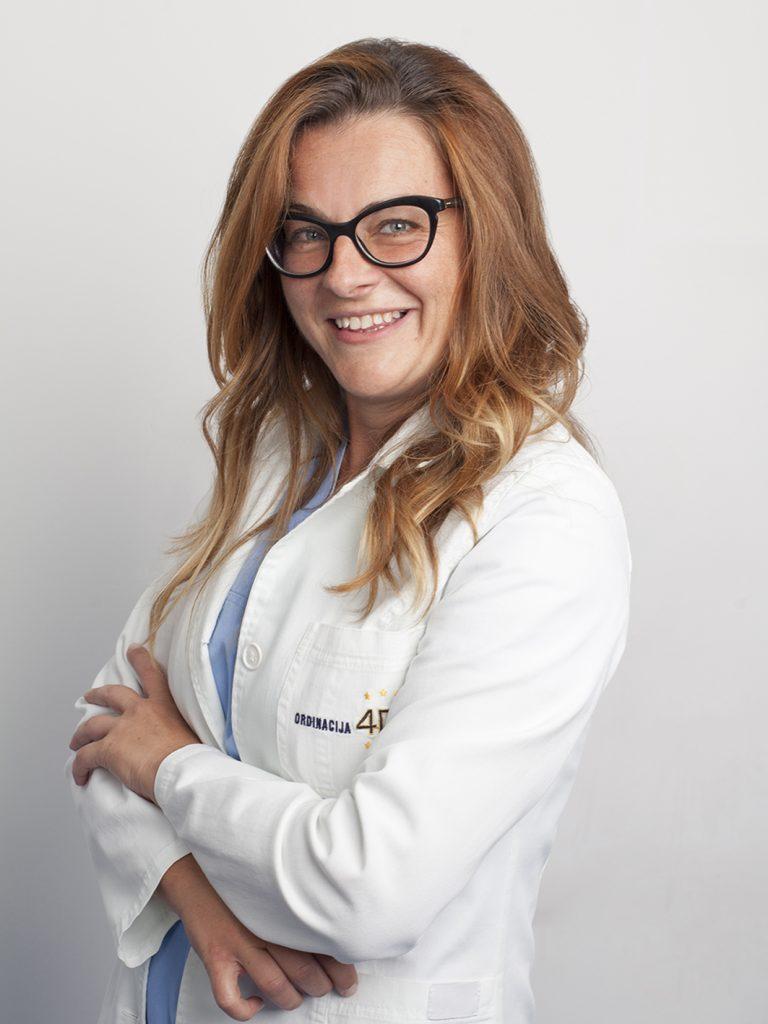 Mr sc. med. dr Gordana Kovačević
